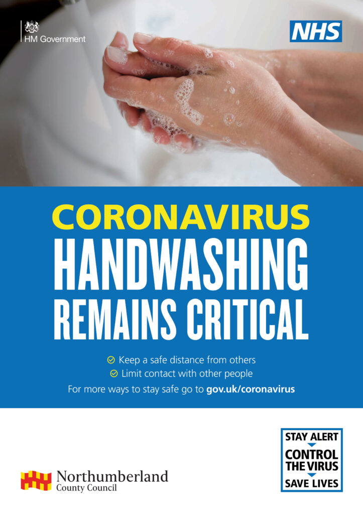 845 Outbreak A1 posters handwash 2